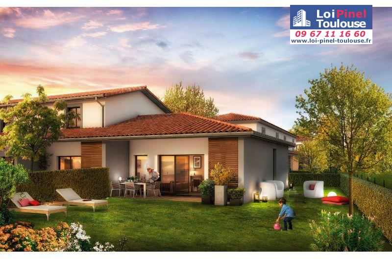 Maisons neuves launaguet et villas loi pinel toulouse for Immobilier neuf deja construit
