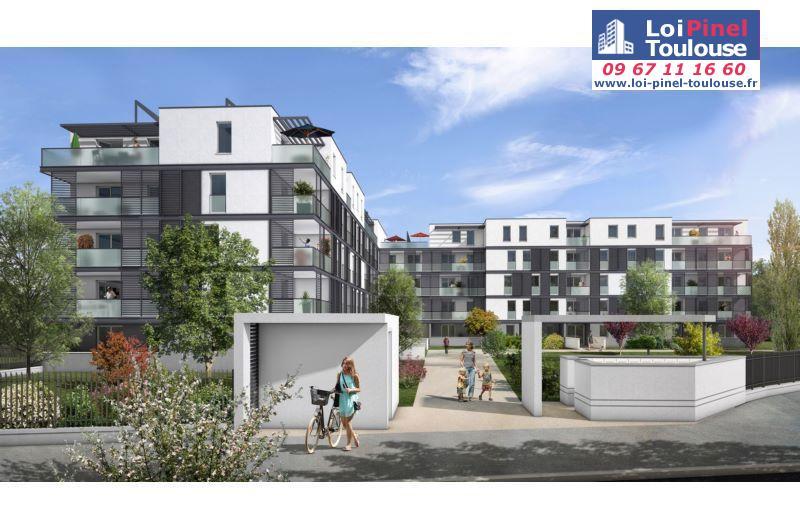 Appartements neufs toulouse croix daurade t3 t4 loi for Appartement neuf bordeaux loi pinel