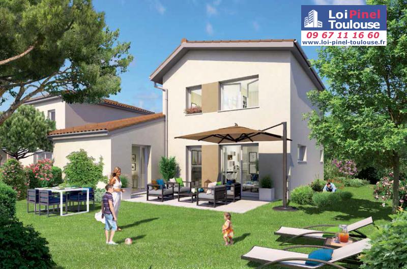 Appartements neufs saint jory t2 t3 et villas loi for Appartement neuf bordeaux loi pinel