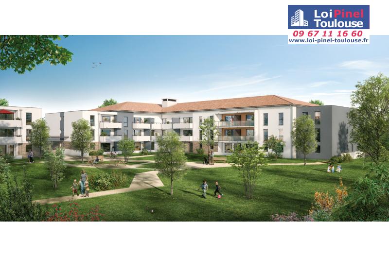 Appartements neufs fonsorbes t2 t3 loi pinel toulouse for Appartement neuf bordeaux loi pinel