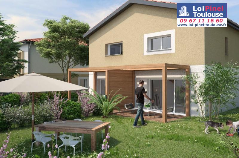Appartements neufs aussonne t2 t3 et villas loi for Appartement neuf bordeaux loi pinel