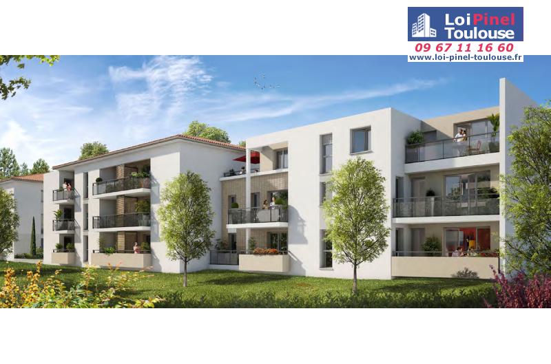 Appartements neufs tournefeuille t1 t2 t3 loi for Appartement neuf bordeaux loi pinel