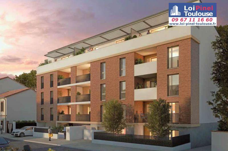 Appartements neufs toulouse saint agne t2 t3 loi for Appartement neuf bordeaux loi pinel