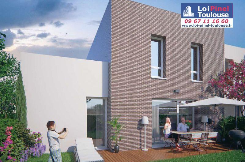 Maisons neuves aucamville t2 t3 et villas loi pinel for Maison aucamville