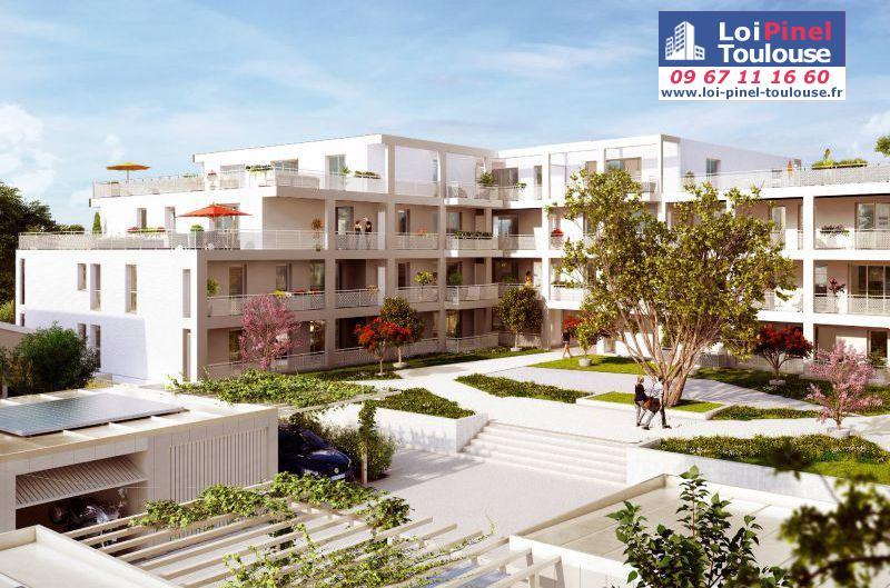 Appartements neufs blagnac andromede t2 t3 t4 t5 et for Appartement neuf bordeaux loi pinel
