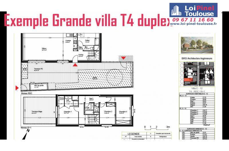 appartements neufs blagnac andromede t1 t2 t3 t4 t5 et villas loi pinel toulouse. Black Bedroom Furniture Sets. Home Design Ideas