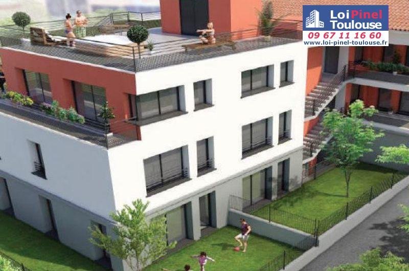 Appartements neufs toulouse c te pav e t1 t2 t3 t4 for Appartement neuf bordeaux loi pinel