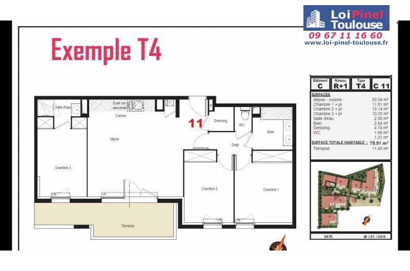 Appartements neufs à Tournefeuille