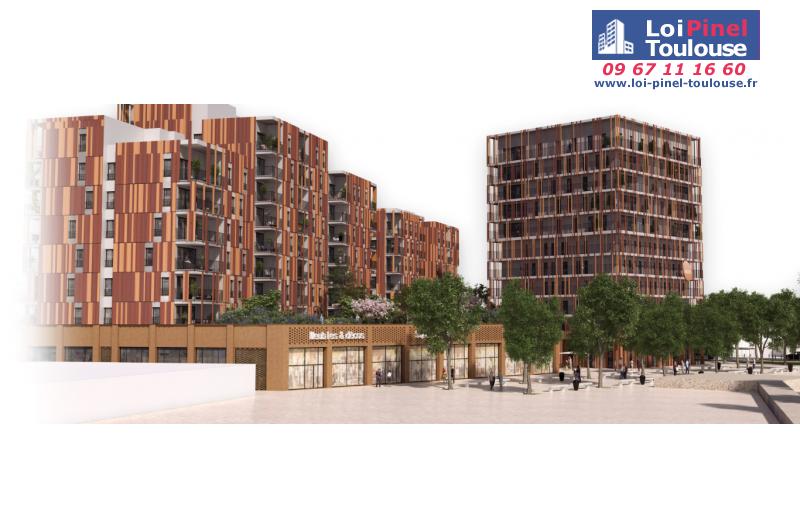 Appartements Neufs  U00e0 Toulouse Cartoucherie  T1  T2  T3  T4