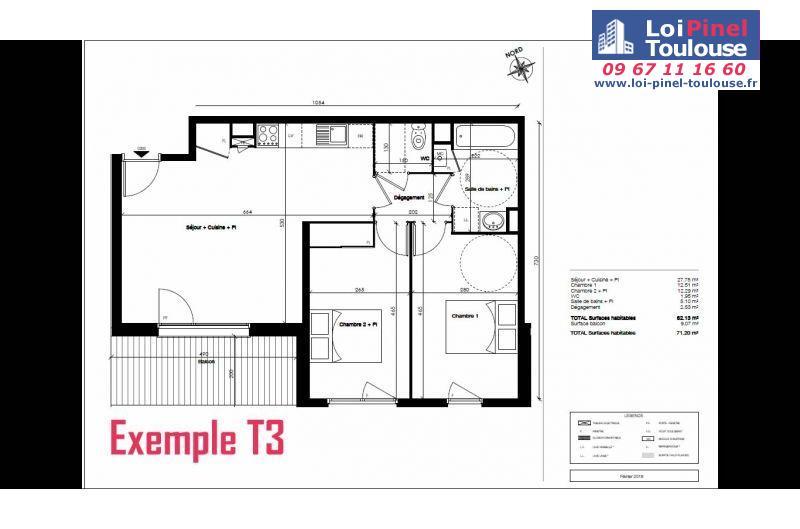 Appartements Neufs  U00e0 Toulouse Saint Agne  T2  T3