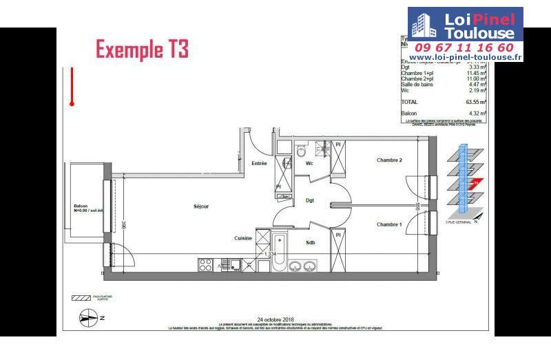 Appartements neufs à Toulouse Saint Michel