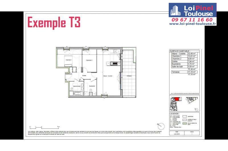 Appartements neufs à Blagnac Andromede