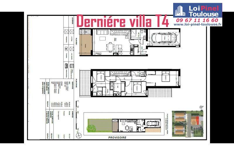 Maisons neuves à Tournefeuille