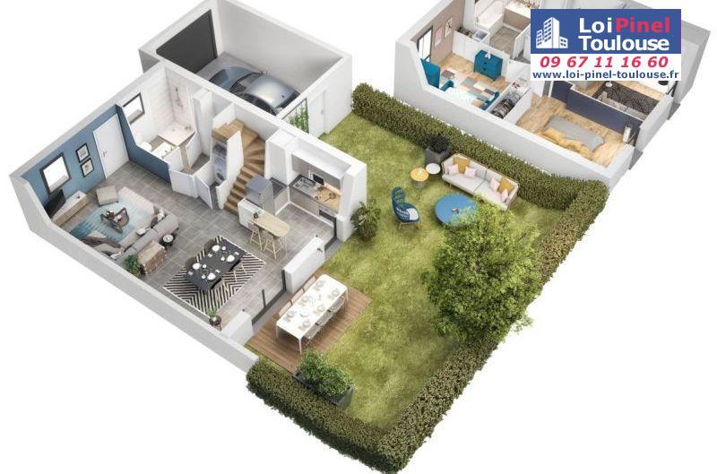 Maisons neuves à Colomiers