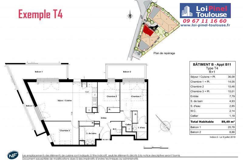 Appartements neufs à Blagnac