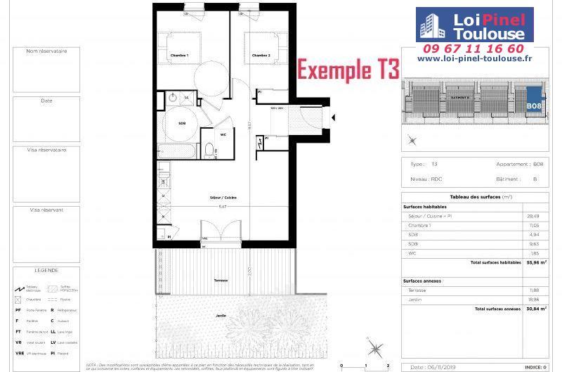 Appartements neufs à Toulouse Bonnefoy