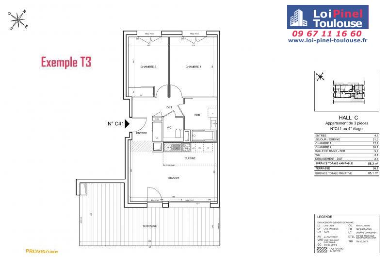 Appartements neufs à Toulouse Guillaumet