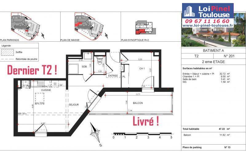 Appartements neufs à Rouffiac Tolosan