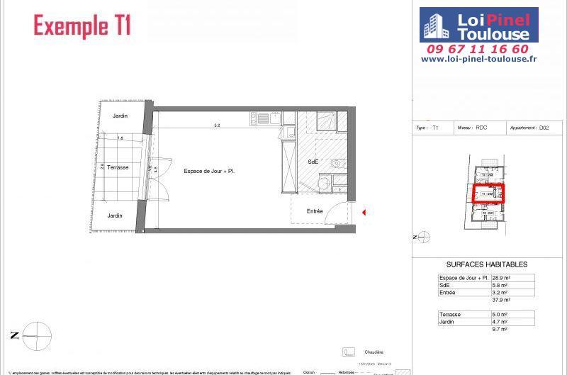 Appartements neufs à Toulouse Croix Daurade