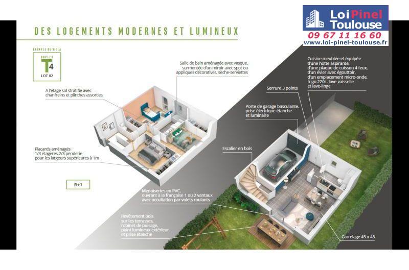 Maisons neuves à Muret