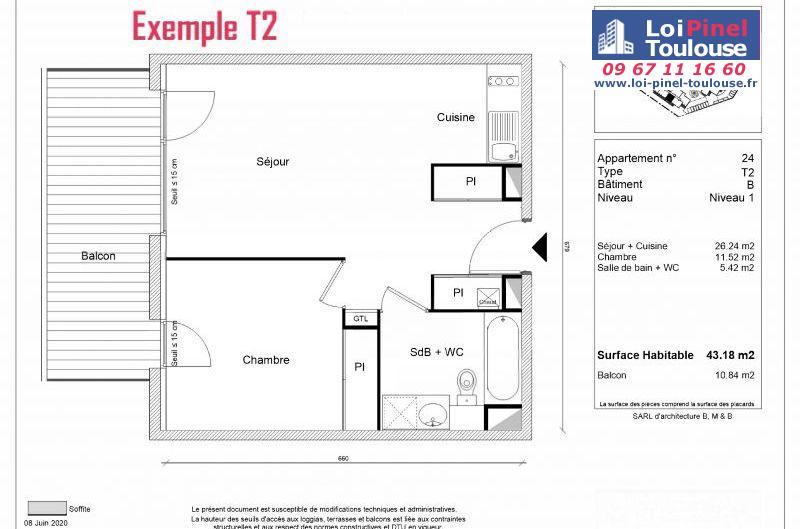 Appartements neufs à Montrabé