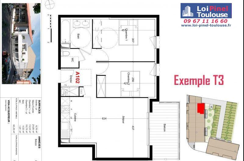 Appartements neufs à Castelginest