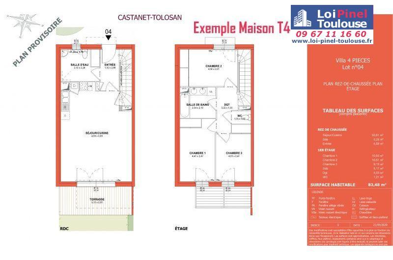 Maisons neuves à Castanet-Tolosan