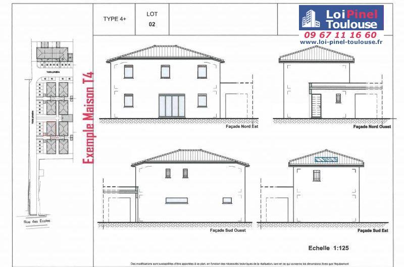 Maisons neuves à Aucamville
