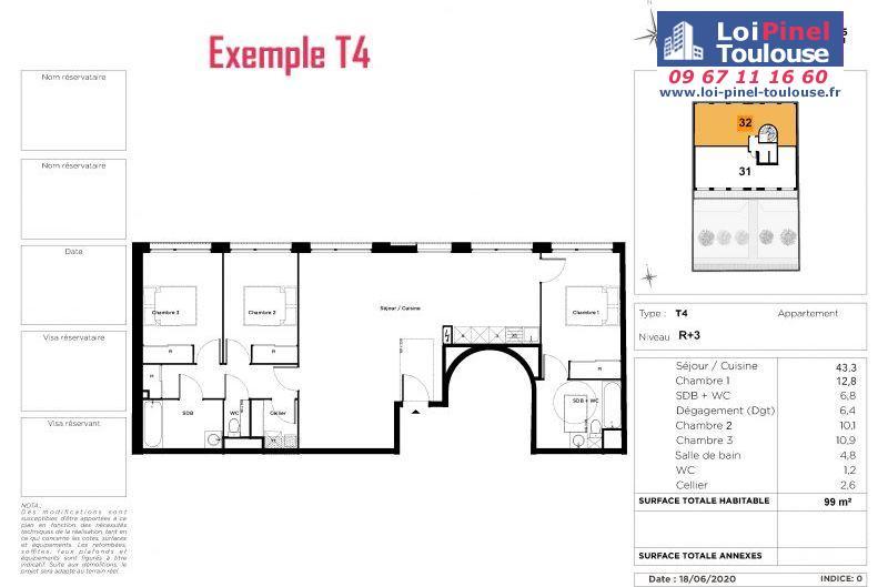 Appartements neufs à Toulouse Busca