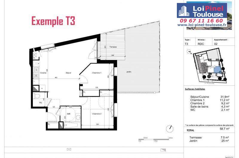 Appartements neufs à Saint-orens-de-gameville