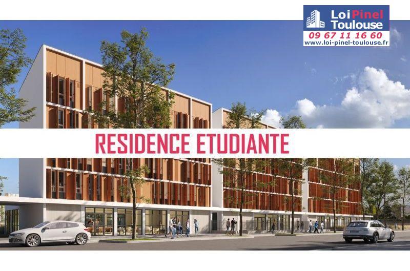 Résidence étudiante LMNP à Toulouse Les Arènes