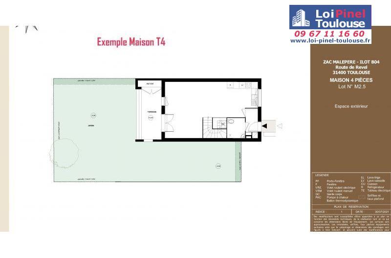 Maisons neuves à Toulouse Malepère