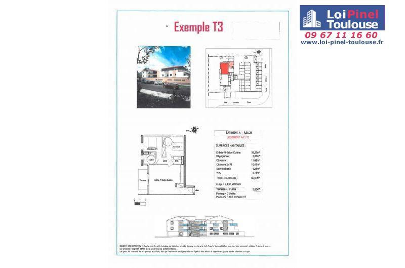 Appartements neufs à Toulouse Lardenne
