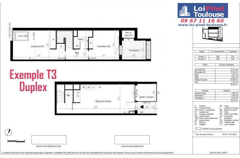 Appartements neufs à Toulouse Saint Aubin